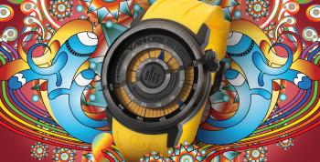 Tendências de moda colorida por Yankee Street Relógios