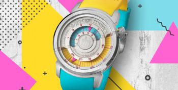 Conheça os relógios coloridos da Yankee Street